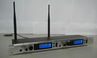 Wholesale Transmitter Ear - BK-620 stereo wireless in ear monitoring system 4 receivers with USB for Stage Dual Stereo Wireless Monitor System Transmitter With 4 pocket