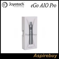 Wholesale Pro One Kit - Joyetech eGo AIO Pro Kit All-in-one Style Anti-Leaking Structure with 4ml e-juice Capacity Built-in 2300mAh Battery Top Filling100% Original