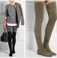 Dropshipping Sexy Flat Thigh High Boots UK | Free UK Delivery on ...