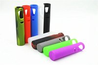 Wholesale Ego Cases Design - 20pcs Ego Aio Silicone Case Silicon Cases Colorful Rubber Sleeve Protective Cover Skin For Joyetech ego Aio Starter Kit All In One Design