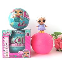Wholesale Lol Hot - Hot Sale Toy Series 1 LOL surprise Doll 10cm Diameter Ball Toys Functions LOL Surprise Ball Toy For Kids Christmas Gift