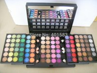 Wholesale Eye Shadow Palette 96 - Factory Brand New Super Quality 96 Color Eyeshadow Palettes Boxed shimmer nude Eye Shadow Pigment+GIFT 224 Eye blending Brush,Free Shipping