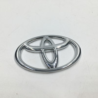 Wholesale Toyota Camry Emblems - 7 Sizes Chrome ABS Front Hood Badge Emblem Rear Car Logo Sicker For Toyota Corolla Vios Reiz Yaris Camry Rav4 Aurion