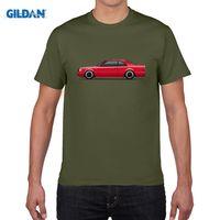 Wholesale Red Shirt Guy - Mercedes 300CE W124 AMG Man T Shirt 100% Cotton Short Sleeve O Neck Tshirt Boy Teeshirt 2017 Funny T-shirt For Guy
