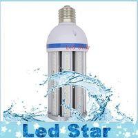 Wholesale candle bulbs resale online - 100W W Shoebox Retrofit Led Corn Light Waterproof W W W W W W W W Led E27 E40 Bulbs Light CUL UL