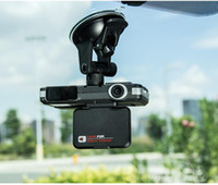 Wholesale Dash Camera Detector - New Hot 2 in 1 Car DVR Camera Vehicle Camera Video Recorder Dash Cam Registrator Camcorder + Radar Laser Speed detector Night Vision DHL