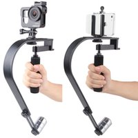 Wholesale handheld digital video camera online - Freeshipping Handheld Video Stabilizer Camera Steadicam Stabilizer for Gopro Camera for iPhone SLR Digital Camera