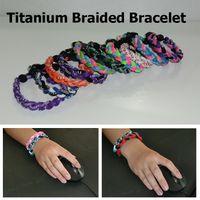 ingrosso bracciale in titanio-Titanium Energy Balance Balance National Hockey League Team Colorato Cheer Braccialetti Varie opzioni colore