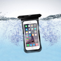 Wholesale Ipx8 Waterproof Case - New SHOW FSD-004 Luxury Shockproof Hybrid Rubber Waterproof IPX8 PVC Phone Case Cover Universal bags