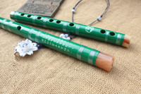 flûte en porcelaine achat en gros de-Bambou Chinois Flûte Dizi Traditionnel Main Bois transversal Bambu Flauta Musique Instrument De Musique Pas Xiao C / D / E / F / G Clé 2017