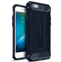 Wholesale Korean Set Phone - IP6S plus phone sets New spigen Korean fashion New ultra-thin TPU case