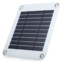 Wholesale 5w Solar Panel Charger - 5W USB Output Solar Charger with Eyehole Solar Panel Charger for iPhone Samsung and Android Device
