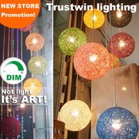luces colgantes regulables al por mayor-Regulable de esfera redonda luminosa bola luminaria accesorio para sala de estar salón restaurante del hotel comedor