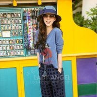 Wholesale Butterfly Beach Resort - Summer Korean Style Wide Brim Hat Wholesale Beach Hat Formal Hat With Butterfly Knot Noble Lady's Retro Mood Straw Summer Sunhat
