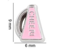 Wholesale Cheer Charms For Lockets - (20 , 50)PCS lot Cheer Floating Locket Charms Fit For Magnetic Glass Memory Locket Fashion Jewelry Making