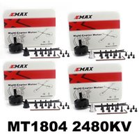 Wholesale Motor Emax - 4x Emax MT1804 2480KV Brushless Motor CW CCW for QAV180 QAV210 Quadcopter Drone