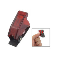 Wholesale Aircraft Covering - Red Safety Flip Up Aircraft Style Cover for Toggle Switch Guard B00065 BARD