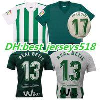 Soccer Men Short Top thai quality 17 18 Real Betis home Soccer Jersey  JOAQUIN VAN DER 2dff2ab55e253