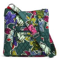 Wholesale Floral Pattern Fabric - NEW pattern VB large Hipster Crossbody Shoulder Crossbody Bag Shoulder Bag Purse Satchel Messenger