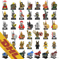 Wholesale Mini Figures Building Block - Mix Lot 120 pcs Minifig Super Heroes Avengers Bat Space Wars Harry Potter Hobbit Figure Super Hero Mini Building Blocks Figures Toys