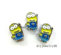 Wholesale Memory Boy - 10PC cartoon boy Floating Charms Fits for Living Memory Locket FC688
