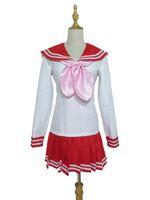 Wholesale Lucky Star Uniform - Lucky Star Konata Izumi Cosplay Costume girl School Uniform