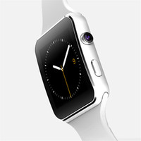 Wholesale Screen For Gps - 2017 new Curved Screen X6 Smart Watches Bracelet Phone With SIM TF Card Slot With Camera For iPhone Samsung