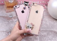 """Wholesale Cute Cartoon Casing - Luxury tranparent Phone Case with cute cartoon Design For iphone 6 6s 4.7"""" 6Plus 5.5""""Soft Silicone Back Cover Case for promotion item gift"""