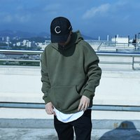 Wholesale Urban Clothes Style - streetwear fashion kanye west style men hoodies pullover oversized hood hoodie clothes mens urban hip hop clothing Sweatshirt