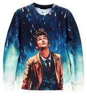Wholesale Uk Pullover - Doctor Who UK TV Season 3D Sweatshirt with No Hoodie Men's Women Adult Youth Sexy T shirt Long Sleeve 2016 New Fashion