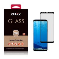 Wholesale 3d Glasses China - for S8 S8 Plus 3D Covered Full 3M Glue Tempered Glass Screen Protector Samsung Galaxy Gold Direct Shenzhen China OEM&ODEM Wholesales USA