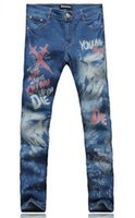 Wholesale Joker Trousers - Men's fashion trend in the new han edition cultivate one's morality personality joker color matching cotton denim trousers   28-38