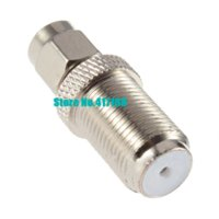 Free Shipping + 5pcs / lot HF-Anschluss-Adapter SMA-Stecker auf F-Buchse Adapter No.74 Connectors