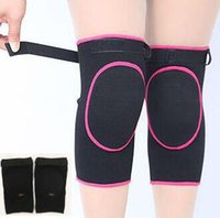 1 paire / lot Knee Pads Enfants Adultes Kneecaps Sécurité Cotton Knee Pad Protector Enfant Kneepad Hommes Femmes Leg Warmers Dance Protection