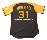 Dave Winfield San Diego Padres 1978 Majestic Cooperstown Lontano baseball Jersey