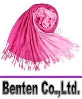 Wholesale Fashion Accessory Ponchos - Double color gradient Cashmere Scarf Pashmina Scarves Shawls Ponchos Wraps Silk Scarf 170*70cm Fashion Daily Accessory LLFA88