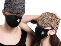 Wholesale cool fashion cotton anti pollution PM2 daily use face mask with changable dust filter