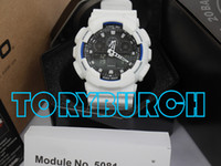 Wholesale High Multiple - High quality relogio G*100 full set men's sports watches, Luxury brand men watch LED chronograph wristwatch, military watch, digital watch