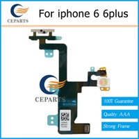 Wholesale Iphone Cable Silent Switch - Guarantee High Quality Power Button Volume and Silent Switch Keypad Flex Cable for iPhone 6 6plus