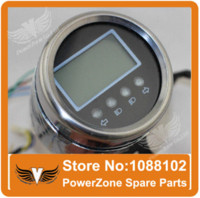 Wholesale Speedometer Quad - Universal 110cc 125cc 150cc 250cc ATV Quad Buggy LED Digital Speedometer Odometer Accessories Free Shipping