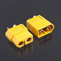 Wholesale Wholesale Bullet Connectors - 50 pairs bag XT60 Bullet plug connectors male and female for RC lipo battery RC Battery connector