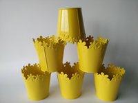 Wholesale Yellow Vases Wholesale - Yellow Wedding Centerpieces Small Vase Pastora Mini Vase Wedding Vase
