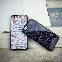 Caso de telefone Luxury Lovers para iphone 7 8 6 6S Plus Case Pintado Graffiti espelho Estojos de telefone Silicone soft back Cover