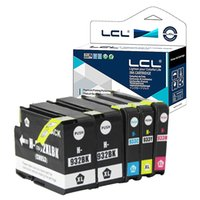 Wholesale Ink 932 Hp - LCL 932XL 933XL 932 933 XL (5-Pack,2 Black,Cyan,Magenta,Yellow) Ink Cartridges Compatible for Officejet 6100 6600 6700 7110 7610 7612 7510 7
