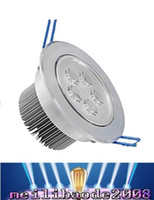 Wholesale 5x3w Ceiling - Led Ceiling Light 5X3W High Quality Dimmable 110V 220v Non-dimmable 15w 85-265V LED Down light Indoor Lighting MYY29