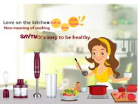 Wholesale SAVTM HB220 m00 Manual electric mixer juicer Multi functional dishes meat grinder making home baby side dish DHL