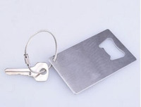 Free Shipping Wallet Size Stainless Steel Credit Card Bottle Opener Business Card Beer Openers