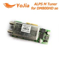 Wholesale Dvb Se Hd - DM800se REV M DVB-2S ALPS M Tuner 801A for 800 HD 800HD DM800HD 800se DM800HD se Digital Satellite Receiver Free Shipping Post order<$18no t