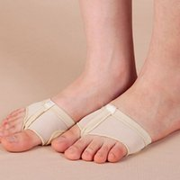 Wholesale Professional Belly Dance Shoes - Wholesale-2016 Professional Belly Ballet Dance Toe Pad Practice Shoes Foot Thong Protection Dance Socks Foot Thongs For Sale