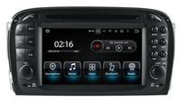 carro indonésio venda por atacado-Android9.0 Octa núcleo 4G RAM 32G ROM Carro DVD CARRO STEREO CAR Navegação GPS multimídia para Mercedes Benz SL R230 2001 2002 2003 2004 estéreo